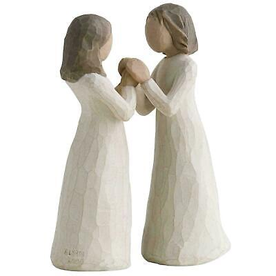 £30.40 • Buy Willow Tree Sisters By Heart, Sister Figurines - Hand-Painted Ornaments, Cream