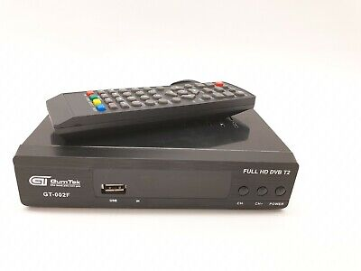 NEW Full HD Freeview Set Top Box RECORDER Digital TV Receiver With USB Socket • 23.99£