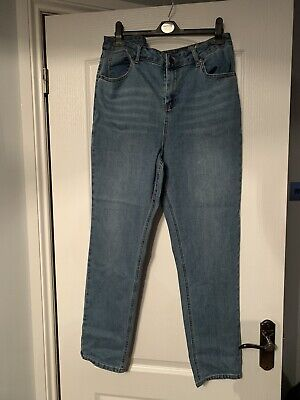 Simply Be High Waisted Mom Jeans Size 18 • 4.20£