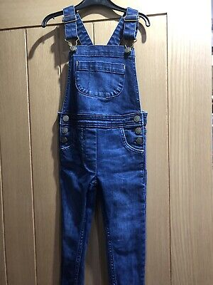 Mini Boden Girls Denim Dungarees, Age 5-6 Years, Great Condition • 25£