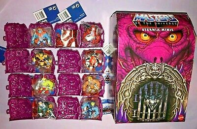 $69.95 • Buy Masters Of The Universe Eternia Minis Series 2 Set Of 8 With Chase & Display