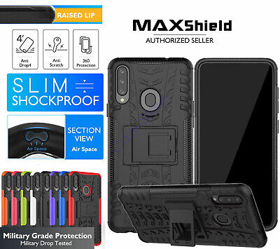 AU8.50 • Buy For Sony Xperia 5 / 1 II / 10 II / XZ3 Heavy Duty Shockproof Stand Case Cover