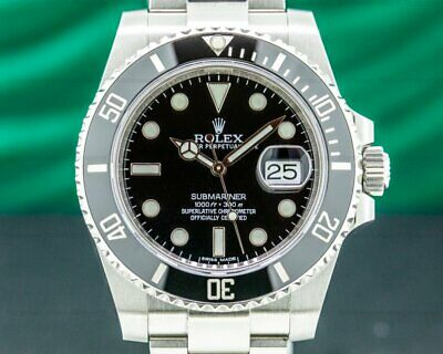 $ CDN15705.05 • Buy Rolex 116610LN Submariner Ceramic SS / SS 2014 WITH ORIGINAL BOX AND PAPER!