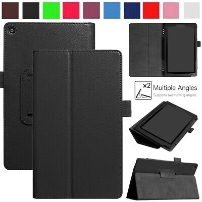 For 8  Amazon Kindle Fire HD 8 Plus 2020 10th Gen Leather Case Stand Flip Cover • 5.25£