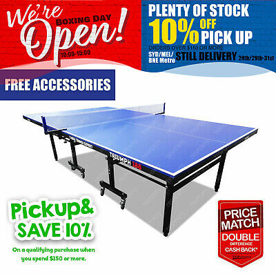 AU577.99 • Buy PRIMO Triumph 188 Pro Size Outdoor Table Tennis Ping Pong Table Balls Net