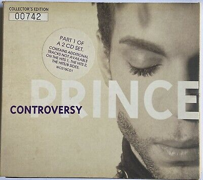 Prince Controversy Cd Single Parts 1 & 2 Low Numbered Limited Collectors • 12£