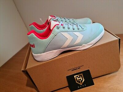 Hummel Root Play Adult Trainers Unisex UK Size 6. Mint Green And Pink Brand New • 35£