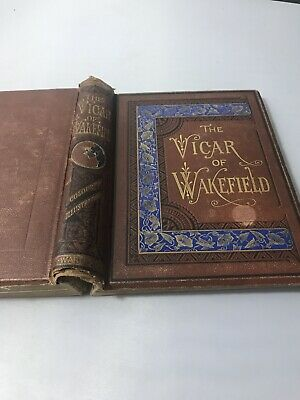 The Vicar Of Wakefield By Oliver Goldsmith C.1880 • 10£
