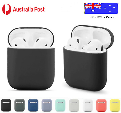 AU3.95 • Buy Apple Airpods Case Silicone Gel Skin Cover Holder For Shockproof Airpod 1 2