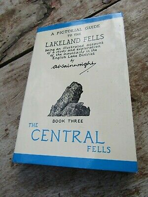 A Pictorial Guide To The Lakeland Fells - A Wainwright - The Central Fells • 5£