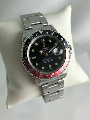 $ CDN13344.66 • Buy Vintage 1991 Rolex Oyster Perpetual Date GMT-Master II 16710 Automatic Watch