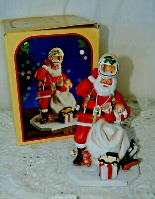 $ CDN32.86 • Buy Vintage Norman Rockwell  Space Age  Santa  Figurine 1984