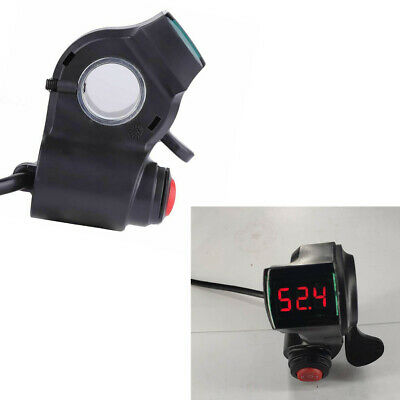 $16.14 • Buy Electric Scooter E-Bike Digital Display Thumb Throttle Handlebar 3 Speed Switch