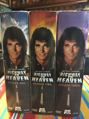 Highway To Heaven - COMPLETE SERIES SEASONS 1-3 1 2 3 - R0 (ALL) DVD Boxsets • 32.99£