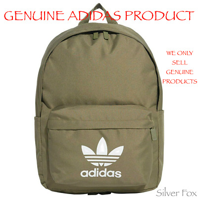 AU39.95 • Buy Adidas Adicolor Classic Raw Khaki Backpack School Travel Sports Gym Bag New