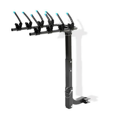 AU149.95 • Buy Car Bike Rack Carrier 4 Rear Mount Bicycle Steel Foldable Hitch Mount