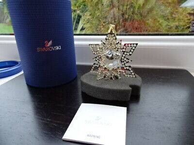 Swarovski 3D Star 5135809 Christmas Boxed • 35£