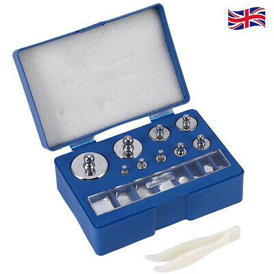 £15.25 • Buy 17Pcs M2 10mg-100g Precision Balance Scale Calibration Weight With Tweezer Case