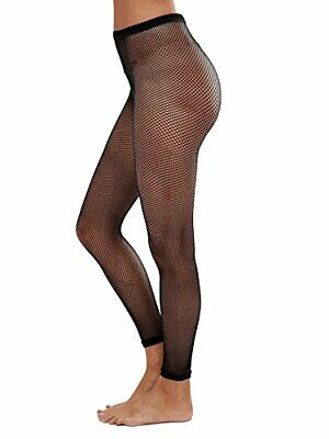 £4.50 • Buy Women's Children's Girls Fishnet Tights Stretchy Dance Fashion Full Or  Footless