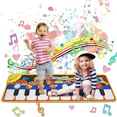 New AOLUXLM Toys For 2+ Year Old Toddlers Piano Mat Gift For Boys Girls Age 1+ • 16.70£