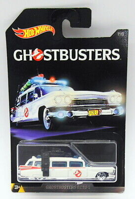 Hot Wheels 1/64 Scale Diecast DWF01 - Ecto-1 - Ghostbusters • 29.99£