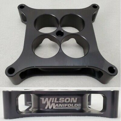 AU247.52 • Buy Wilson Manifolds 004130 4150 Carb Spacer - 1.50  4-Hole Tapered NEW