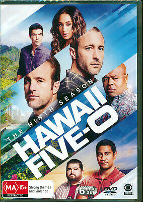 AU38 • Buy Hawaii Five 0 The Ninth Season Nine 9 DVD NEW Region 4