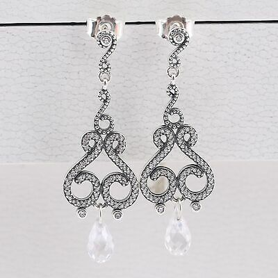 Genuine Pandora Swirling Chandelier  Drop Earrings New  • 22.49£