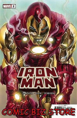 Iron Man #2 (2020) 1st Printing Bagged & Boarded Alex Ross Main Cover  • 3.65£