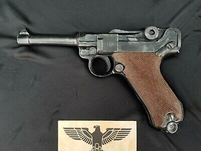 1:1 Scale Solid Resin(no Moving Parts) Luger P08 Film Prop.Painted Or Unpainted  • 50£