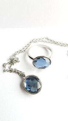 Genuine Swarovski Jewellery Set Royal Blue • 20£
