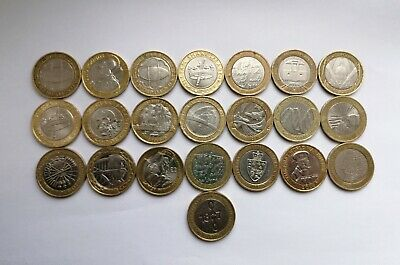 22 X £2 Coin Job Lot Two Pound Coin Collection Including Commonwealth Games • 100£