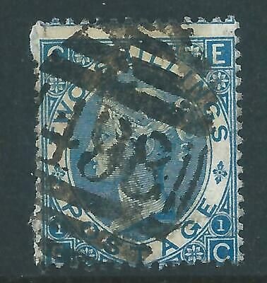 Queen Victoria Stamp SG118 Two Shillings Blue Plate 1 R6300 • 3.20£