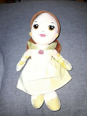 Disney Princess Posh Paws Beauty And The Beast Belle Soft Toy Doll Comforter • 3.50£