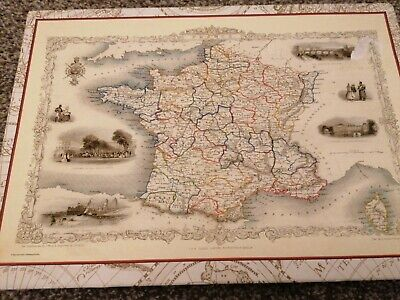 1000 Piece Jigsaw Puzzle.. Map Of Old France • 3.50£