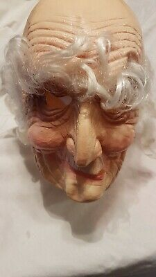 $ CDN59 • Buy 1977 Vintage Old Man Halloween Mask By Cesar. Not Don Post Or Topstone.