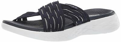 Skechers Women's Go Run 600-Sunrise Slide Sandal, Navy, Size 10.0 R1Aa US • 24.99£