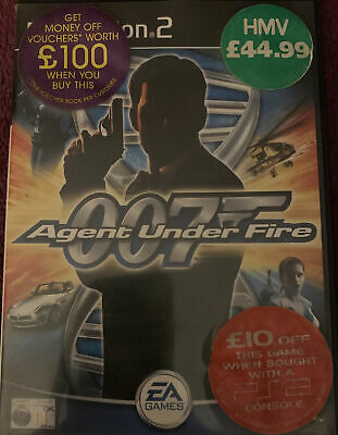James Bond 007: Agent Under Fire - Sony PlayStation 2 • 2.30£