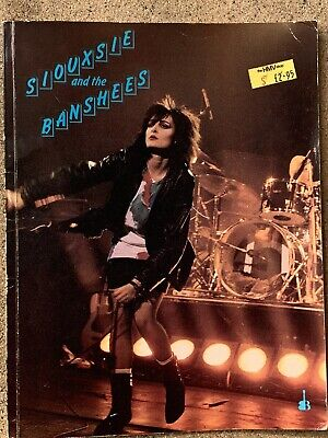 Siouxsie And The Banshees Book. • 11.54£
