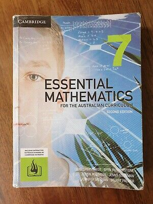 AU25 • Buy Essential Mathematics For The Australian Curriculum Year 7 Second Edition
