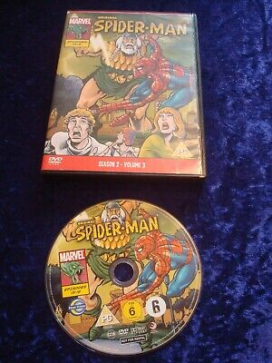 Dvd Original Spider-man.episodes 13-19.marvel Animated Cartoon.uk Region 2 Dvd. • 2.99£