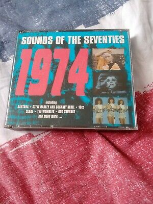 CD Sounds Of The Seventies 70's - 1974 • 9.49£