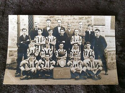 Old Photo Postcard - Malvern Juniors Football Team - 1922 - 1923 • 2£