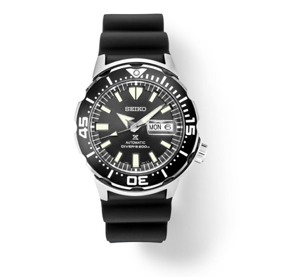 $ CDN267.20 • Buy Seiko Men's Automatic Prospex Monster Black Dial Divers 200M Watch SRPD27