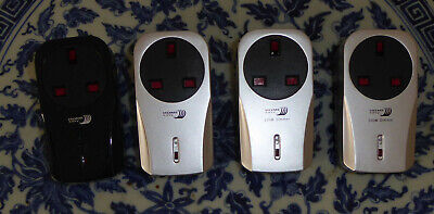 Four Home Easy Remote Control Power On/ Off Sockets  See Details Below • 20£