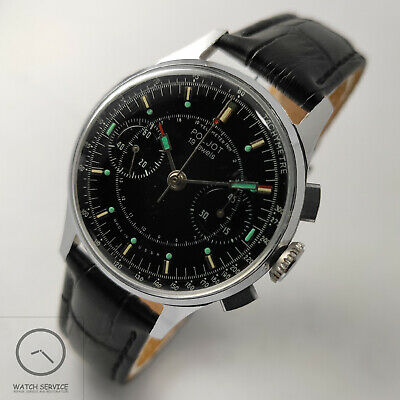 Poljot 3017 Chronograph Vintage Mechanical Mens Watch SERVICED • 127.68£