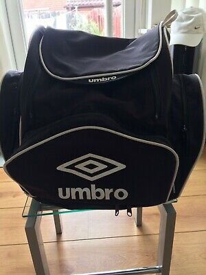 Black Umbro Rucksack With Side And Front Compartments. Used. • 8£
