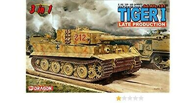 Dragon 1/35 Tiger 1 Late Production 3 In 1 Kit • 54£