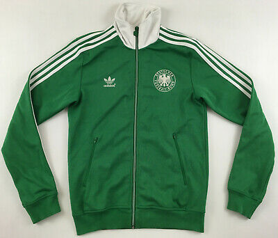 Adidas Originals DFB Germany Beckenbauer E12 Green Track Top Jacket Retro Mens S • 38.26£