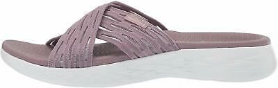 Skechers Women's Shoes Sunrise Fabric Open Toe Casual, Light Mauve, Size 12.0 • 23.99£
